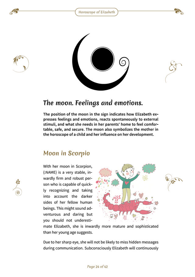 Create Baby Horoscope & Kids birth chart online for free